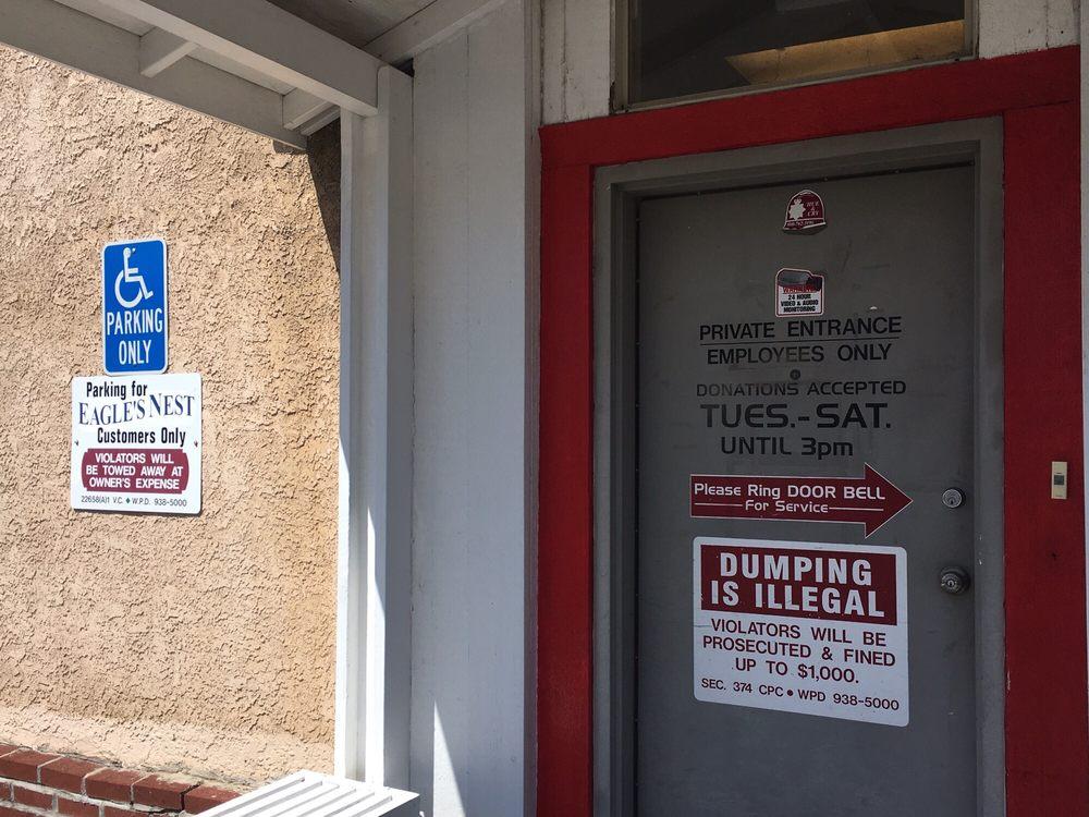 Eagle's Nest Resale Shop: 123 Main St, Weed, CA