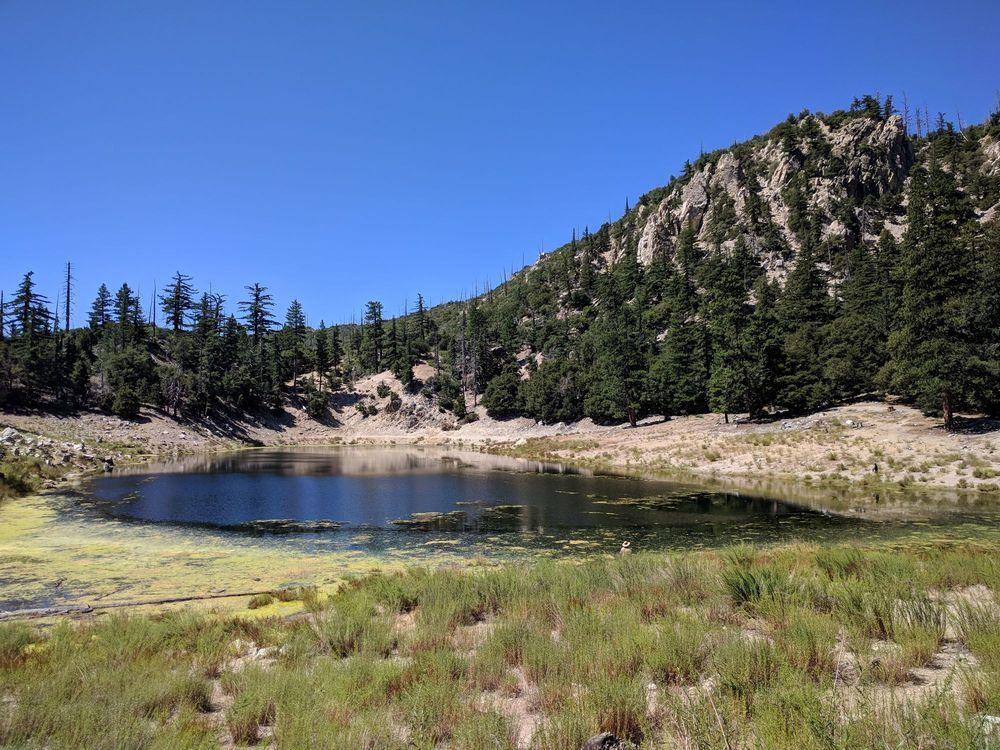 Crystal Lake Camp Ground: San Gabriel Canyon, Azusa, CA