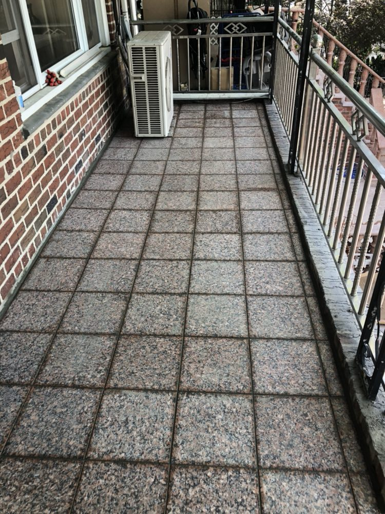 Granite Floor Tiles Installation On The Porch Yelp