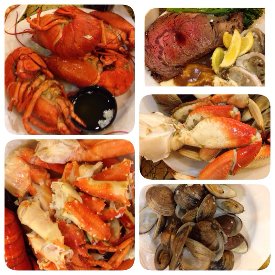 friday night lobster seafood buffet tip arrive extra early to rh yelp com