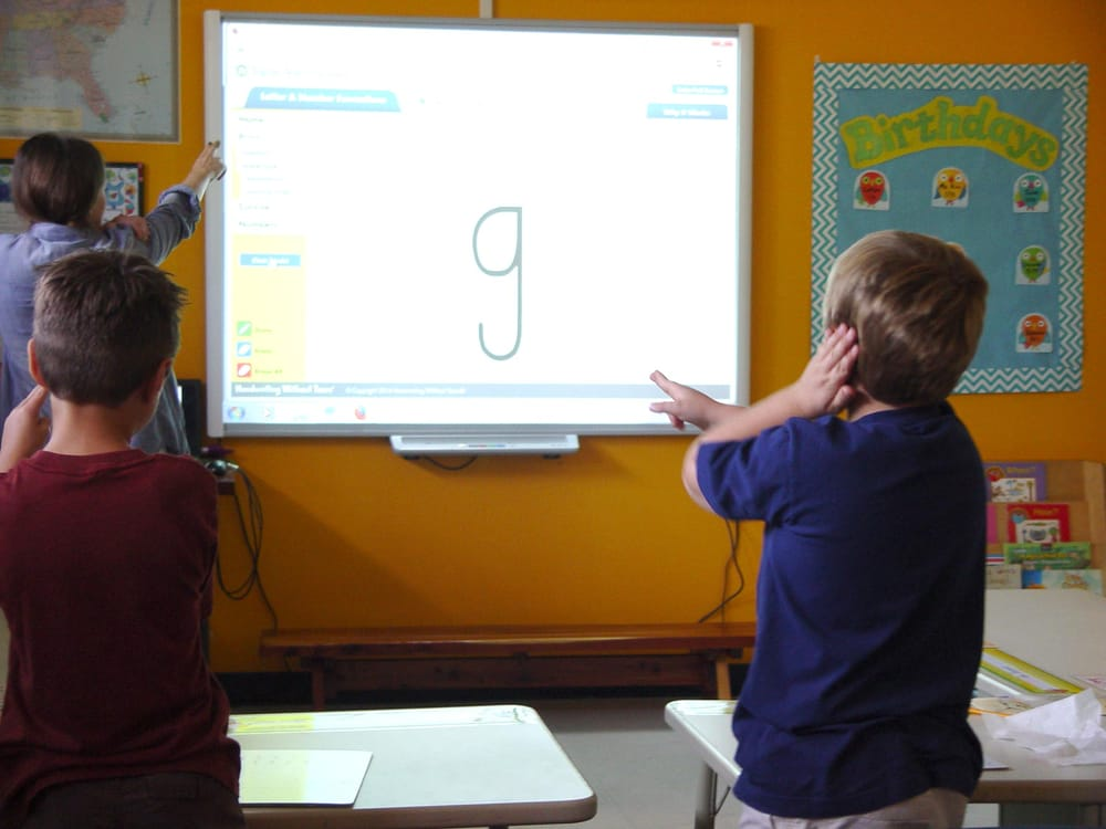 All Classroom Are Equipped With Smartboard Interactive White Boards