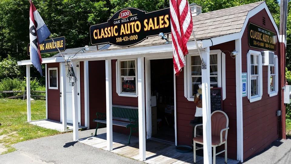 classic auto sales bilforhandlere 1100 oak hill ave. Black Bedroom Furniture Sets. Home Design Ideas