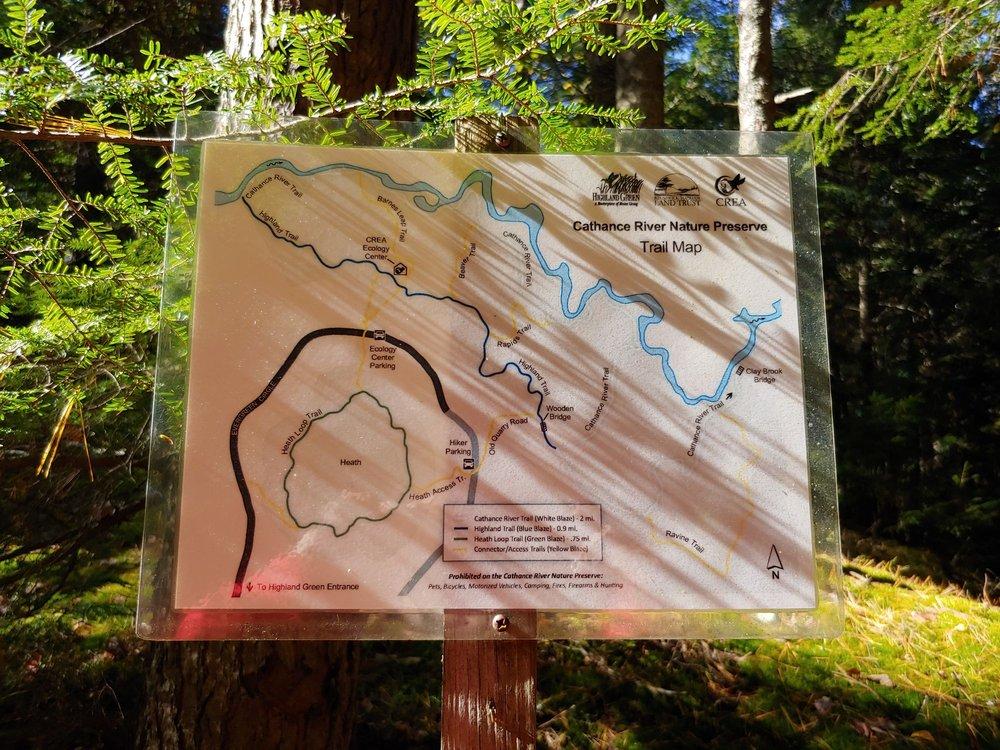 Cathance River Nature Reserve Trails: 219 Evergreen Cir, Topsham, ME