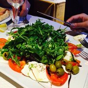 Pizza Pino - Paris, France. Caprese salad