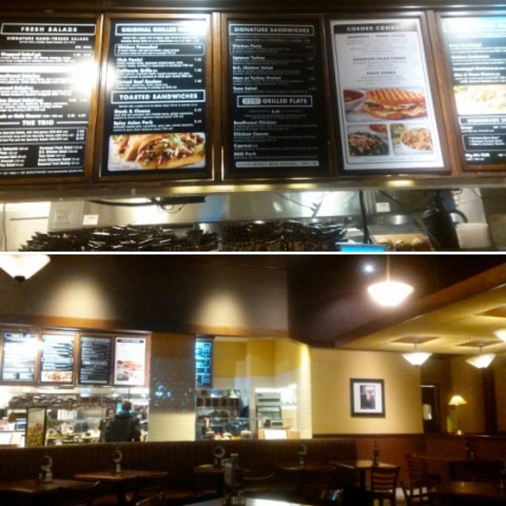 Corner Bakery Cafe Menu Denver