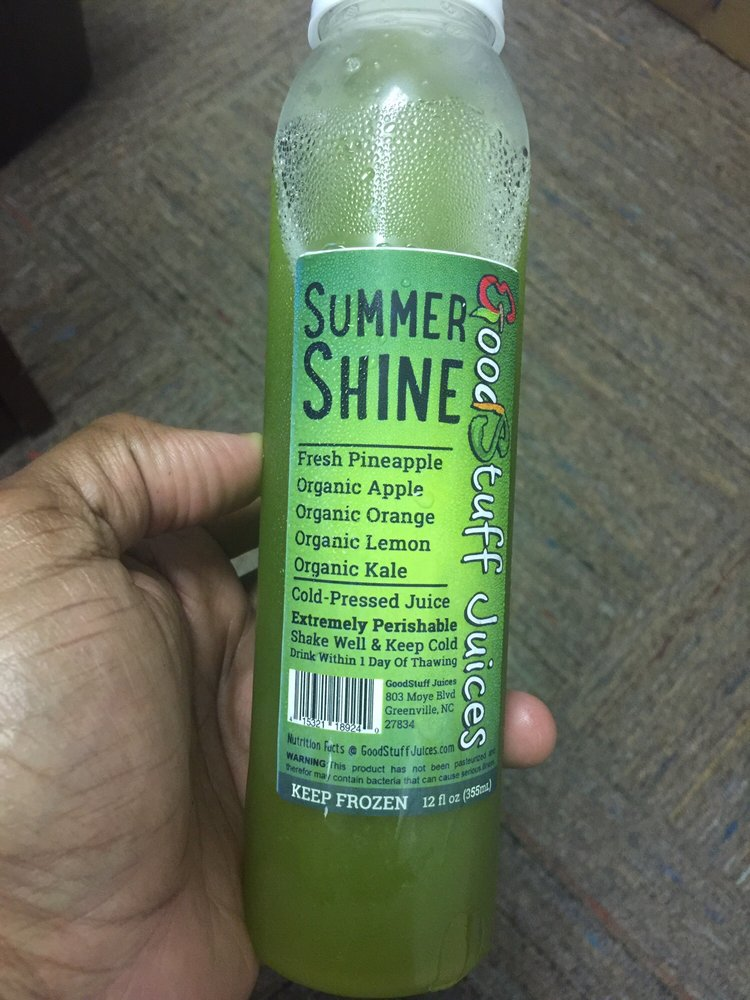 Six 16 oz coldpressed organic juices daily yummy t goodstuff juices order food online juice bars smoothies 803 moye blvd greenville nc reviews photos phone number menu yelp malvernweather Image collections