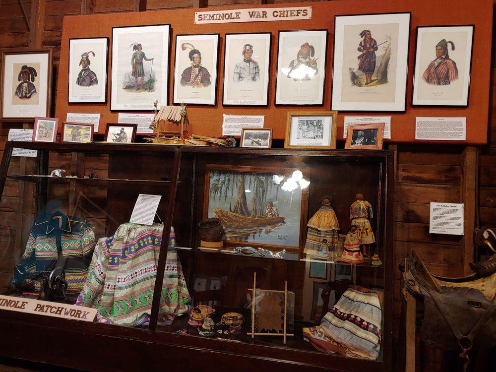 Micanopy Historical Society Museum: 607 NE Cholokka Blvd, Micanopy, FL