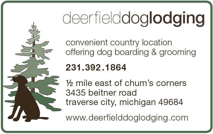 Deerfield Dog Lodging: 3435 Beitner Rd, Traverse City, MI