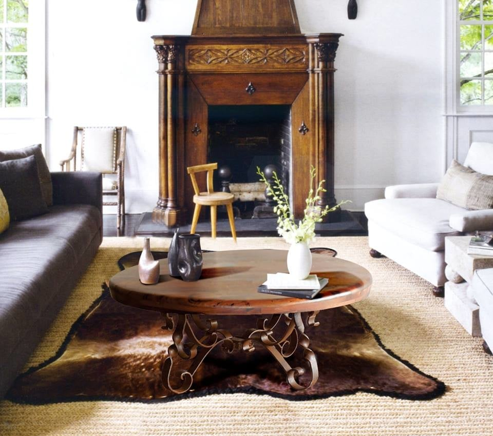 A classic example of a mesquite top coffee table yelp - Susana molina ...