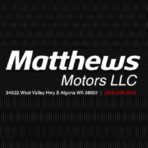 Matthews Motors: 34622 W Valley Hwy S, Algona, WA