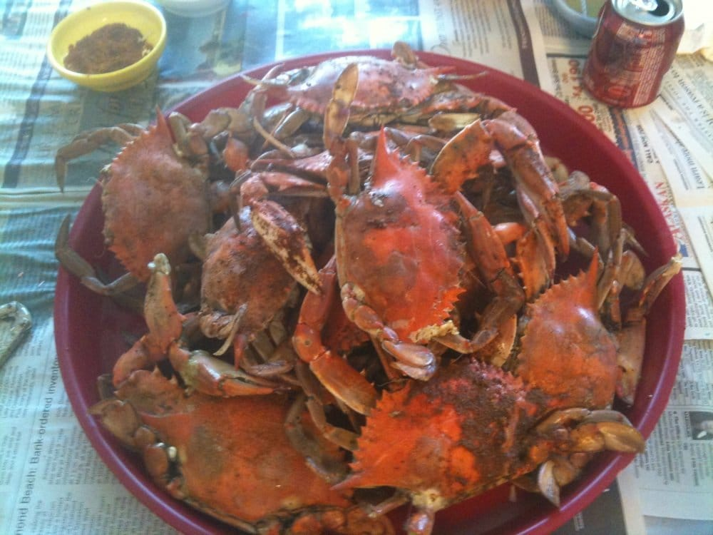 Steamed blue crab - Yelp