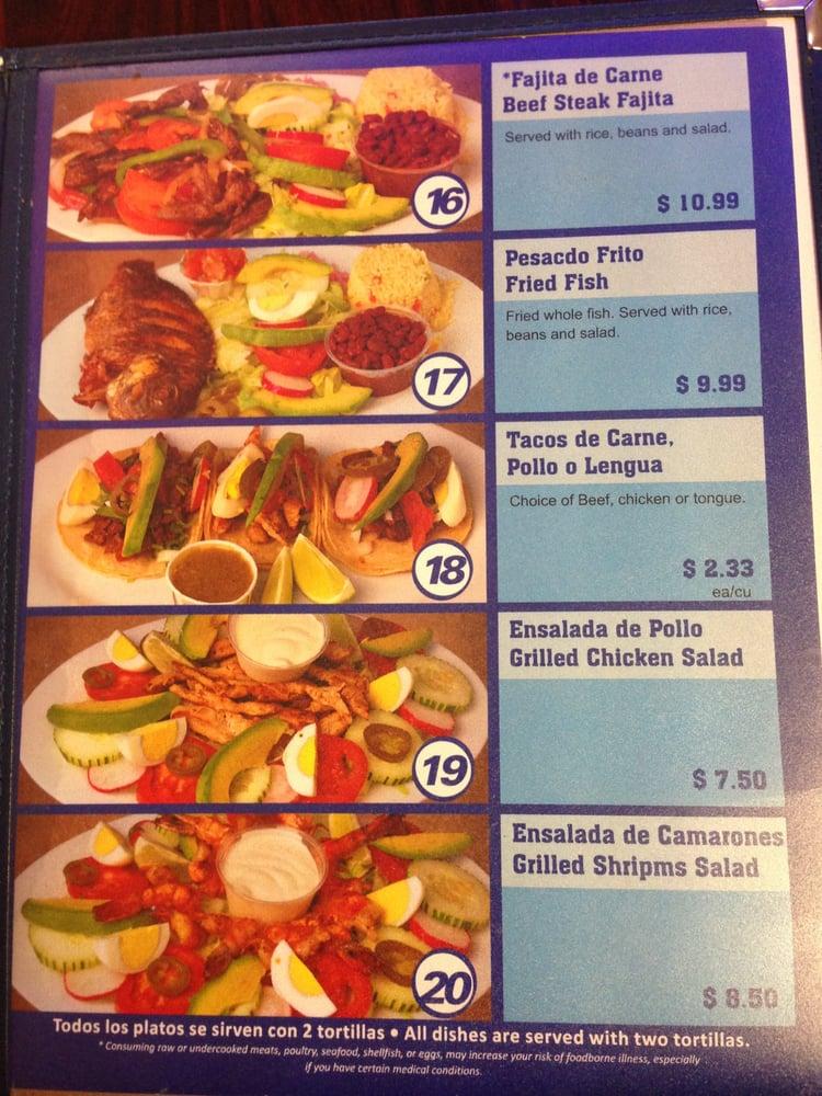 Fourth page of menu yelp for X cuisine miri menu