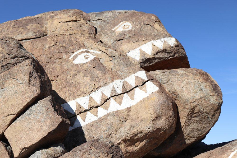 Fish Rocks: State Rt 178, Trona, CA