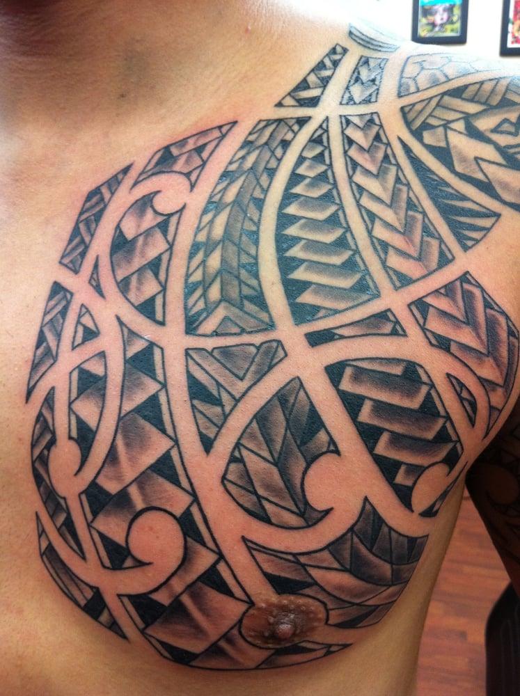 polynesian style tattoo by seth yelp