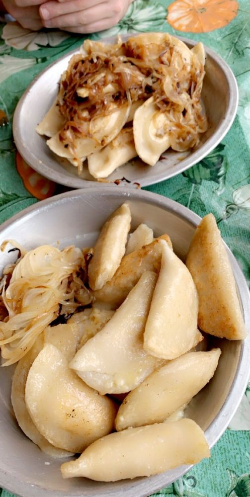 Food from Cop Out Pierogies