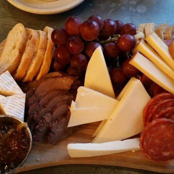 Photo Of Overlook Restaurant Asheville Nc United States Meat And Cheese Board