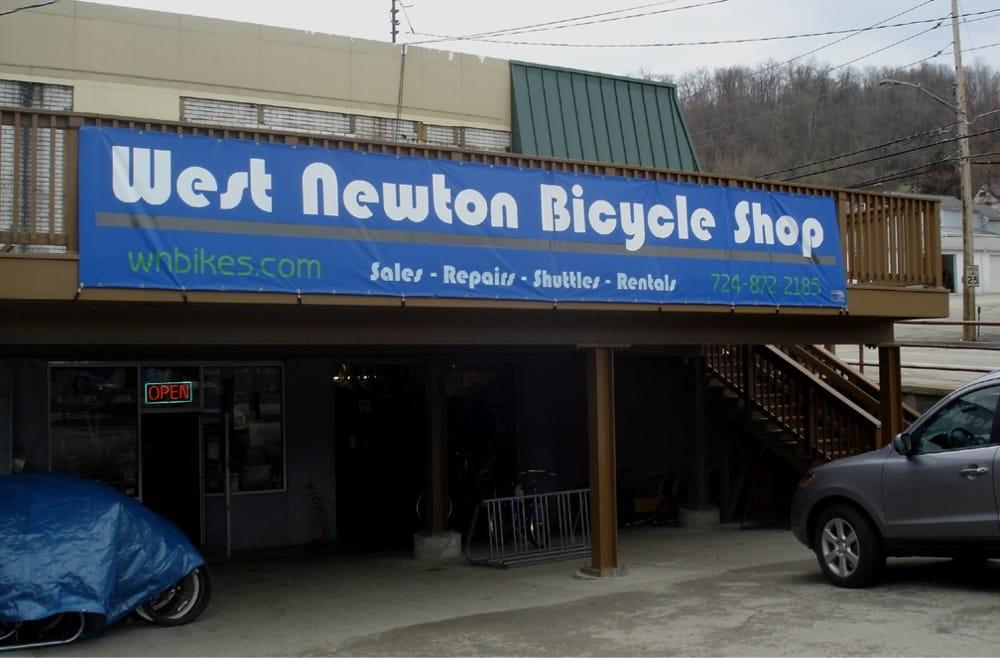 Korber's Bicycle Shop: 110 W Main St, West Newton, PA