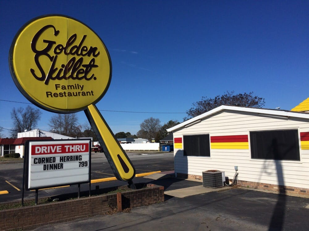 Golden Skillet: 1301 Memorial Dr E, Ahoskie, NC