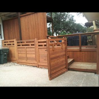 Photo Of Great Dane Fence Staining   Cedar Park, TX, United States