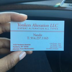E c alterations sewing alterations 1123 yonkers ave yonkers photo of e c alterations yonkers ny united states business card with contact reheart Choice Image