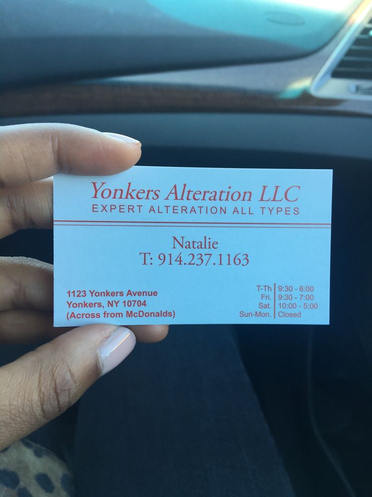 Business card with contact information yelp photo of e c alterations yonkers ny united states business card with contact reheart Choice Image