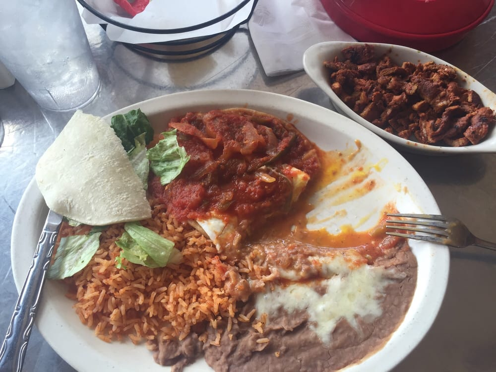 Huevos rancheros w side of adobada yelp for Alejandra s mexican cuisine