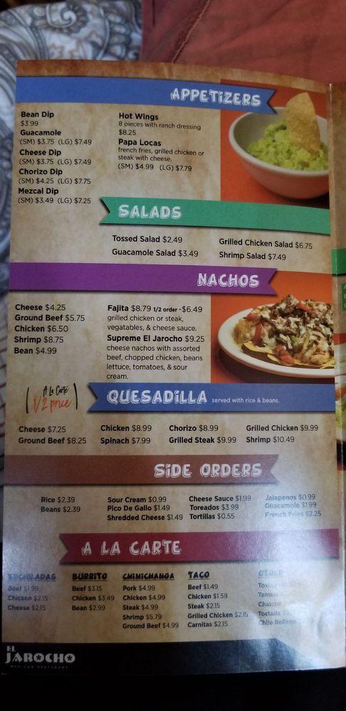 El Jarocho Mexican Restaurant: 1300 Hwy 2, Warner, OK