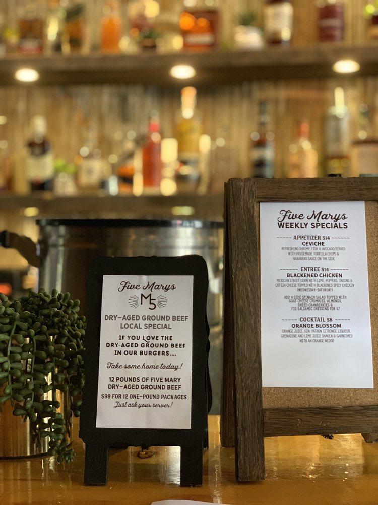 Five Marys Burgerhouse - (New) 40 Photos & 30 Reviews