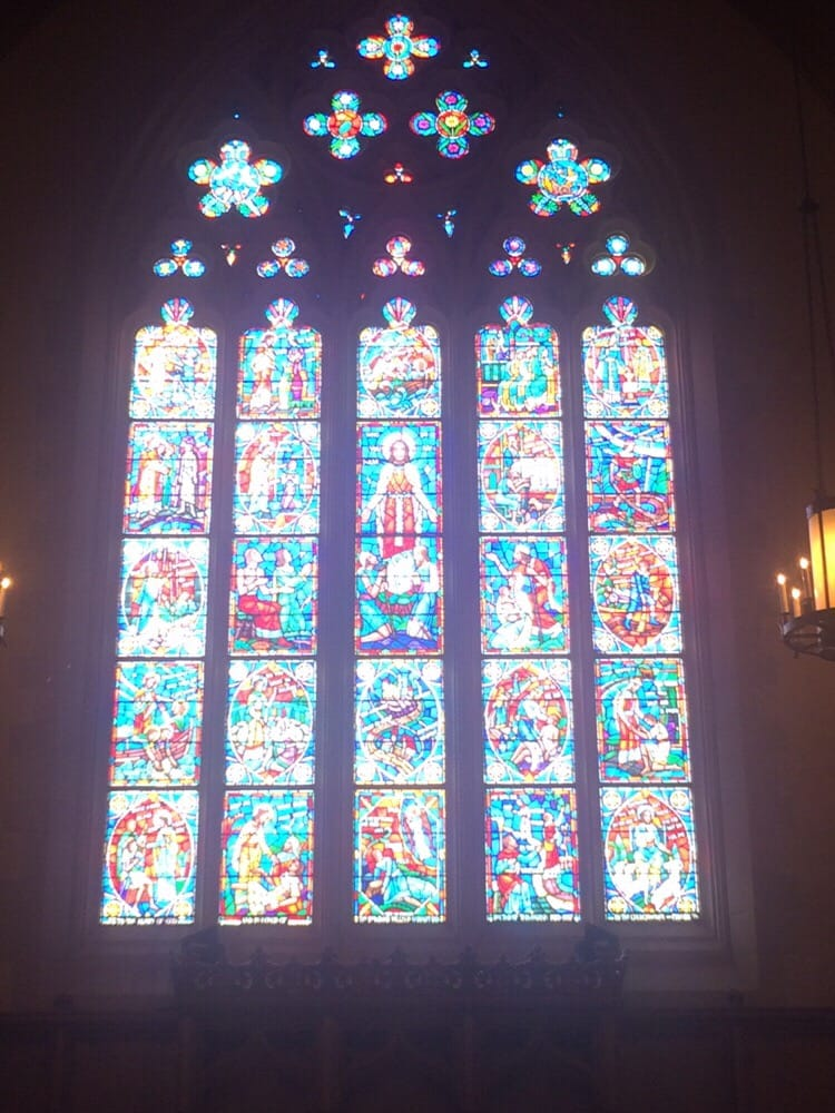 The Stained Glass Windows Are So Majestic Yelp