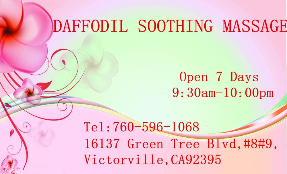 Daffodil Soothing Massage: 16137 Green Tree Blvd, Mercer, PA