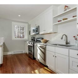 kitchens by design ri. photo of kitchens by design - johnston, ri, united states. painted white shaker ri l