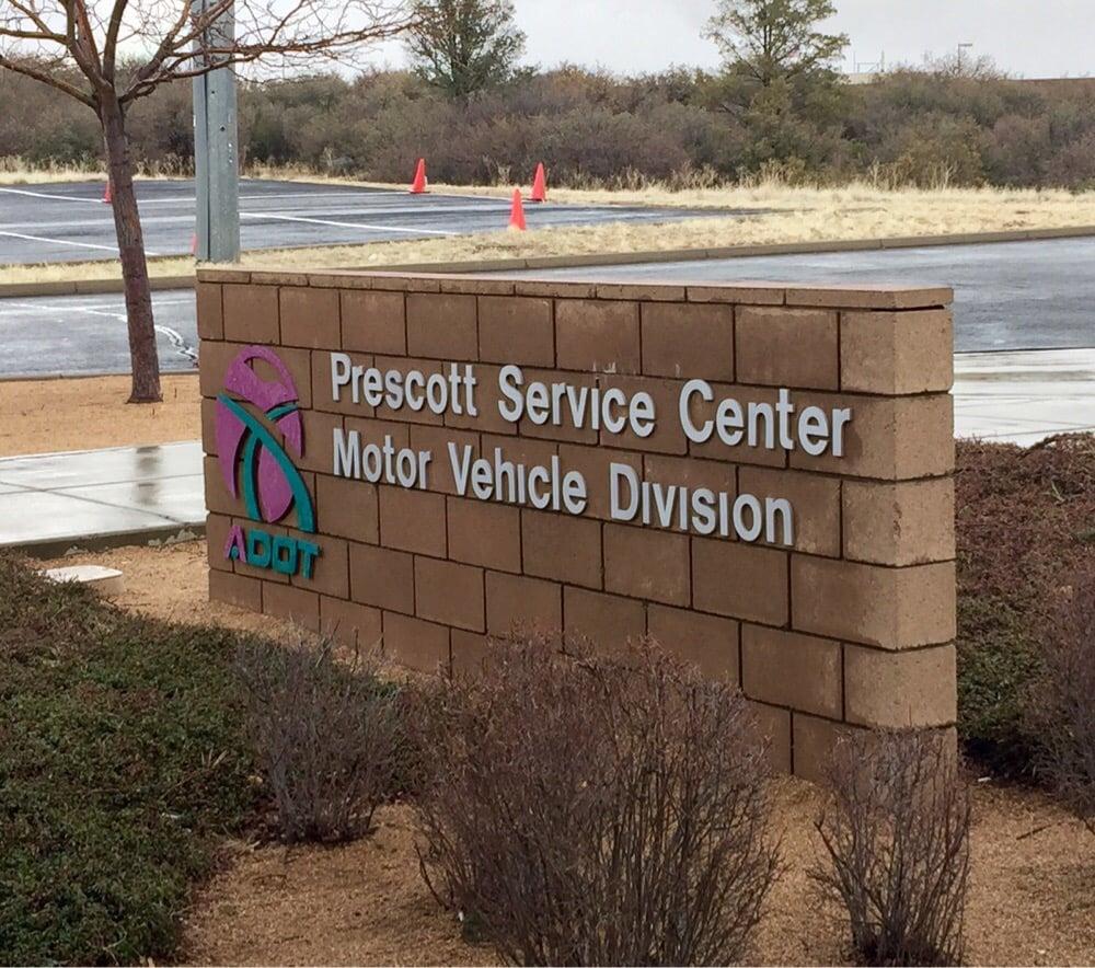 Motor Vehicle Division: 1105 Commerce Dr, Prescott, AZ