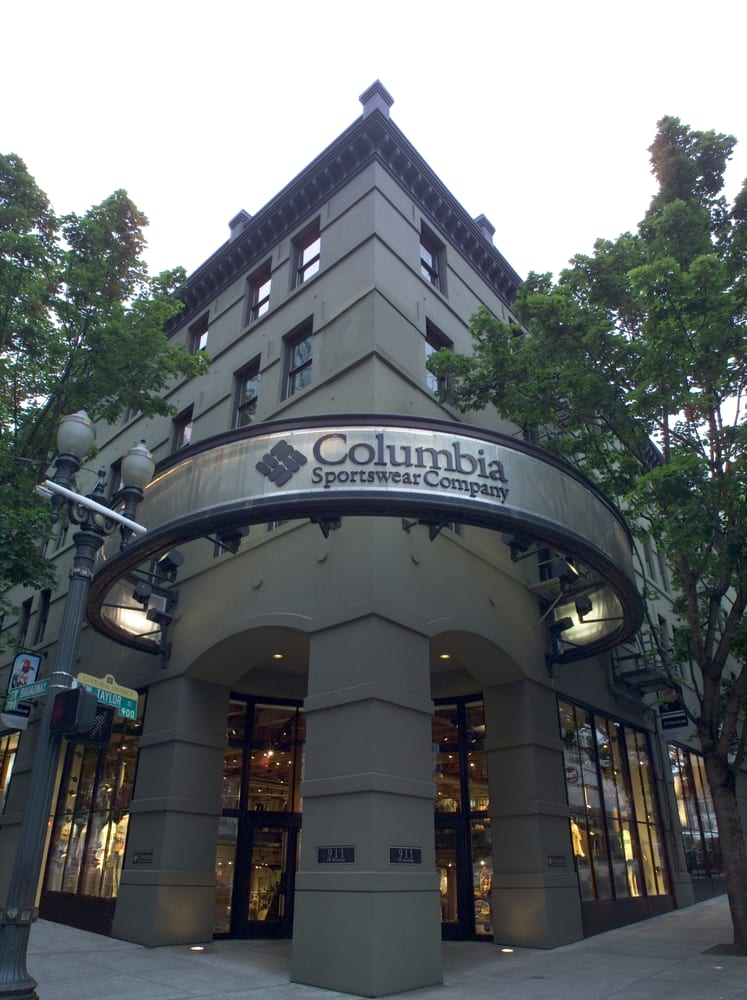 Columbia clothing outlet store locations