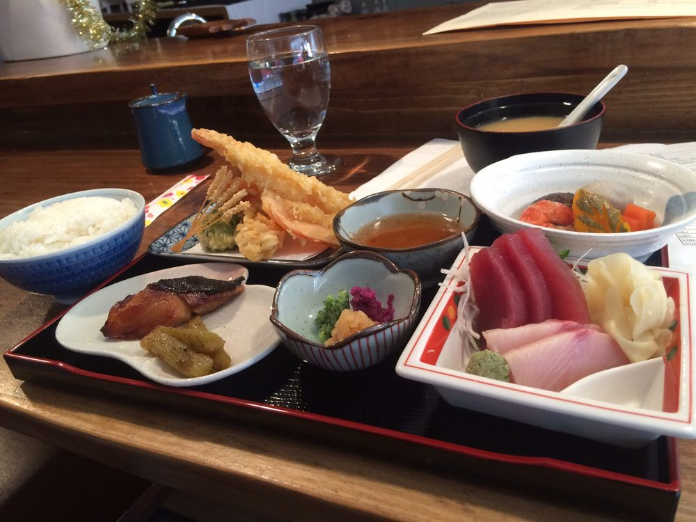 The bento box is amazing yelp for Akira japanese cuisine