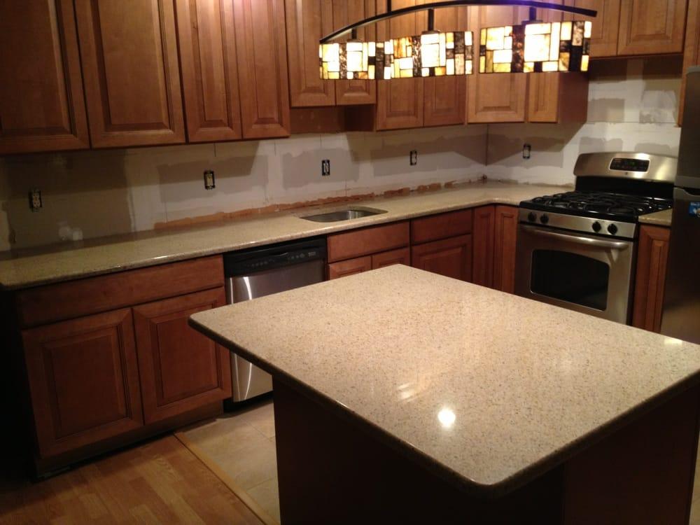 Golden Peach Granite Countertops Yelp