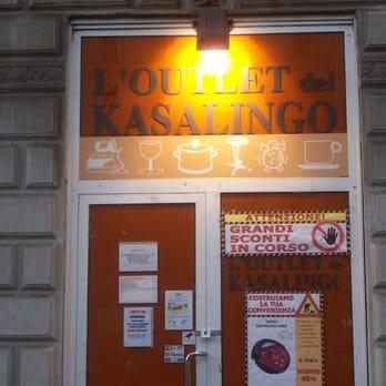 Outlet del Kasalingo - Home Decor - Piazza Argentina 3, Stazione ...