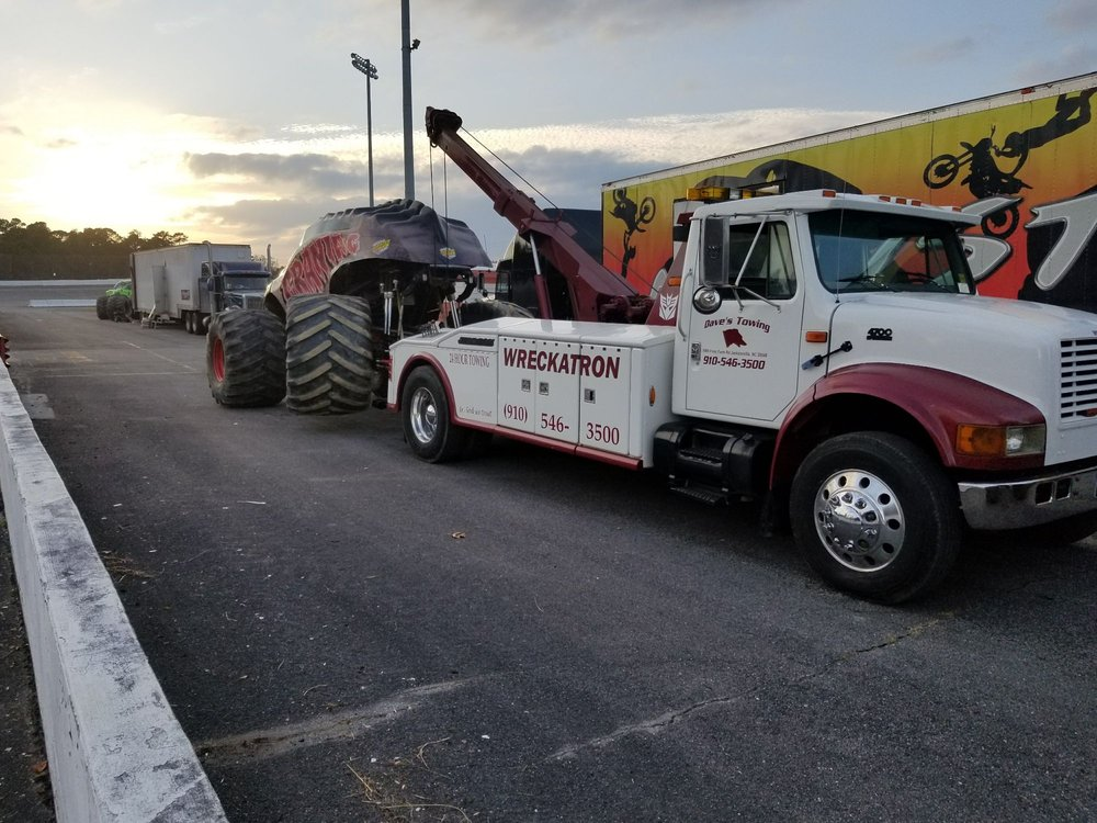 Towing business in Jacksonville, NC