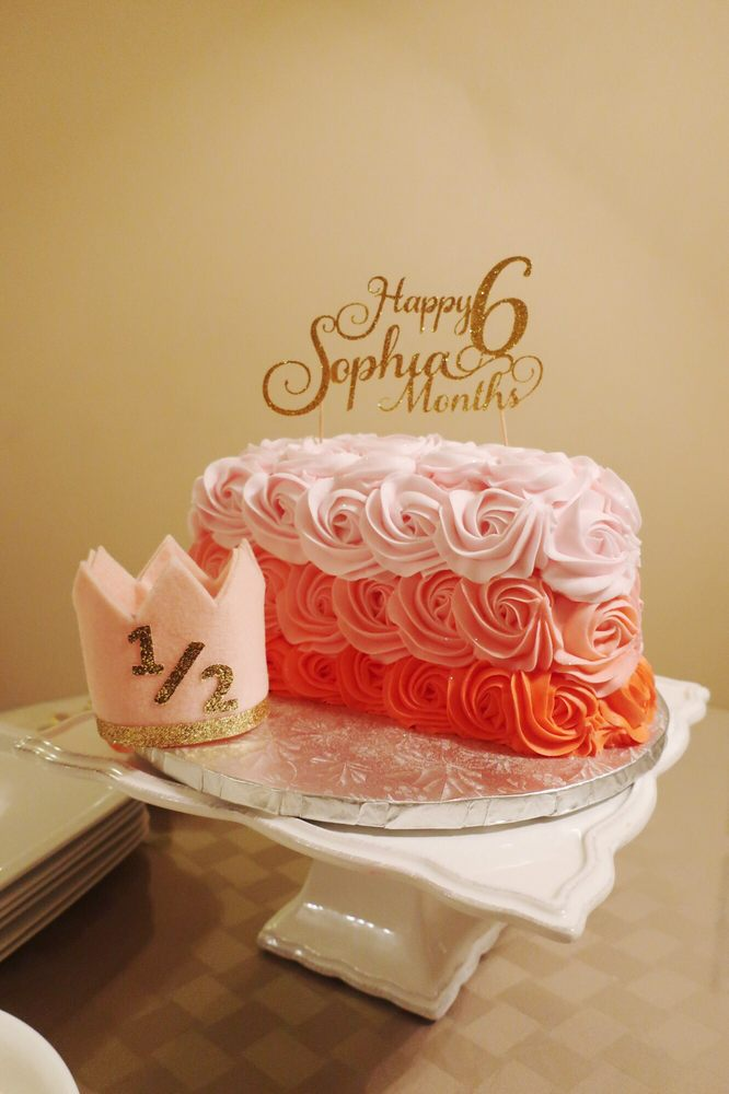 Half Birthday Cake   Yelp