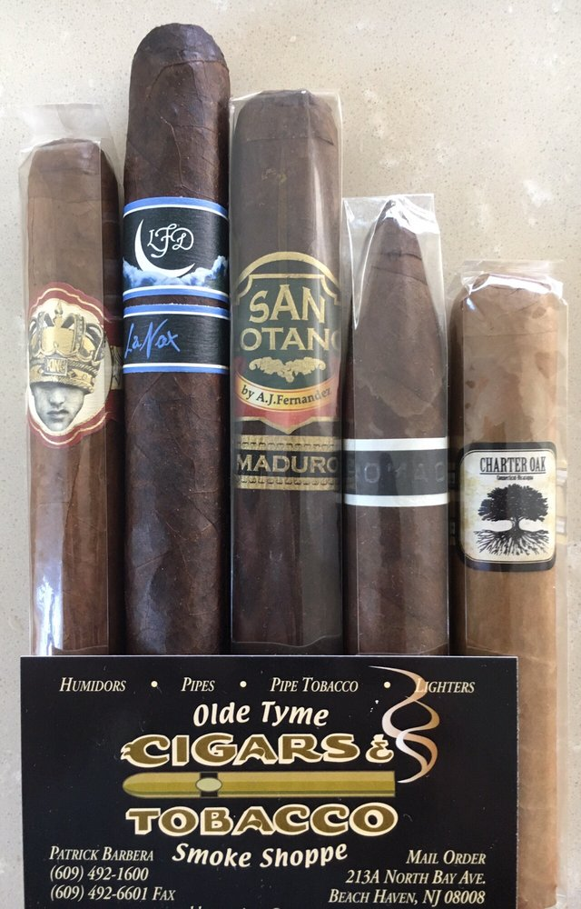 Olde Tyme Smoke Shoppe: 213 N Bay Ave, Beach Haven, NJ
