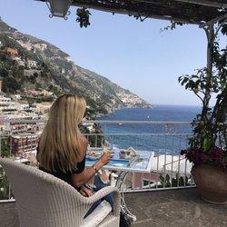 Photo Of Hotel Poseidon Positano Rno Italy The View Is Breathtaking