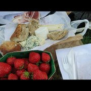 Marché Couvert Saint-Quentin - Paris, France. Picnic we made from Marché St Quentin