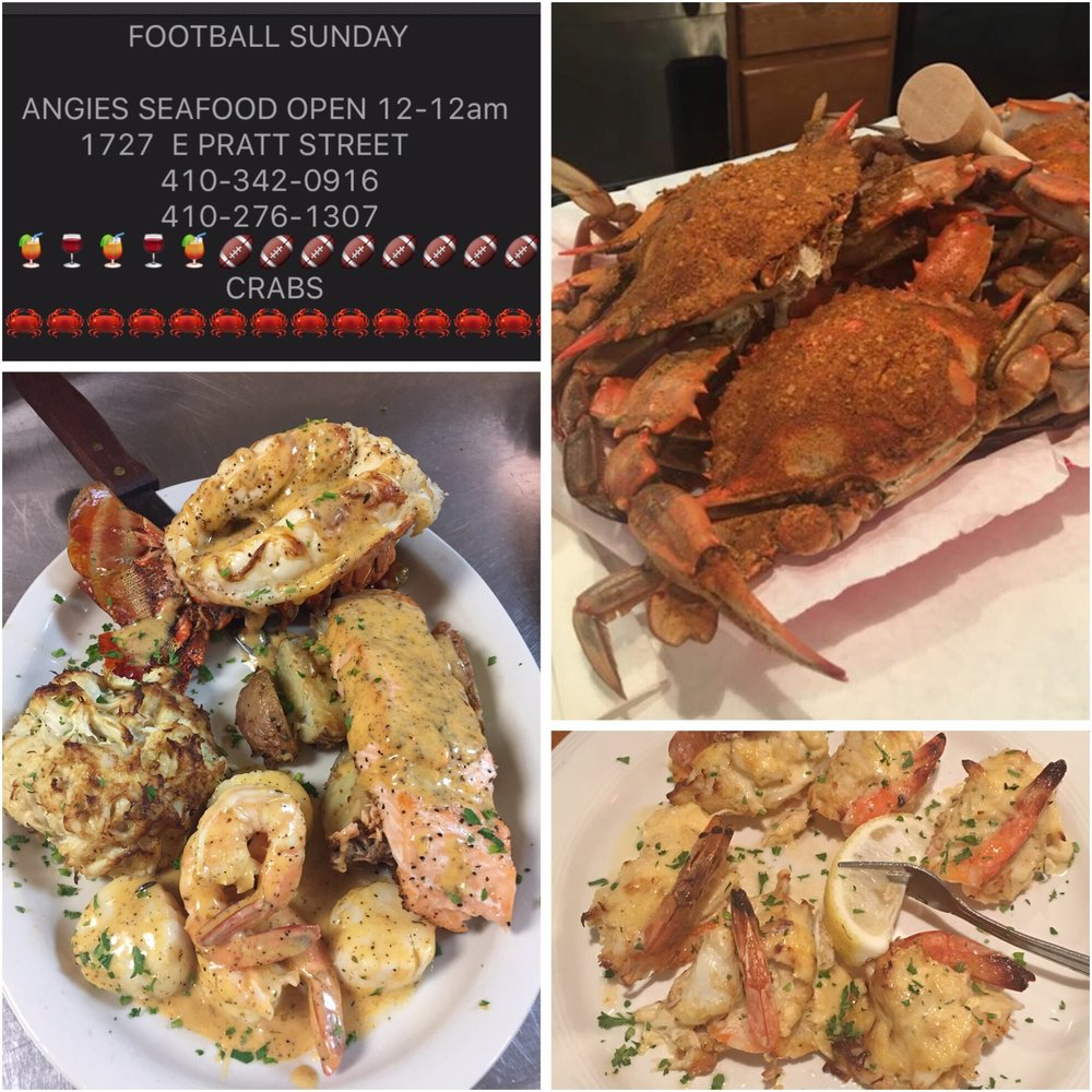 angie's seafood - 122 photos & 108 reviews - seafood - 1727 e