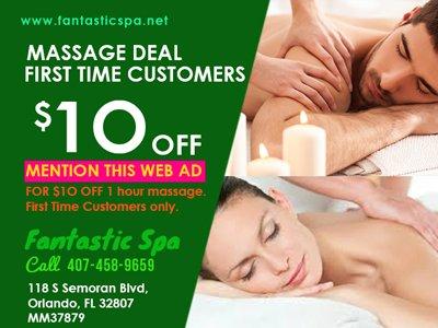 Fantastic Spa & Massage: 118 South Semoran Blvd, Orlando, FL