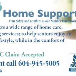Safe Care Home Support Hjemmepleje 3030 Lincoln Ave Coquitlam Bc Canada Telefonnummer