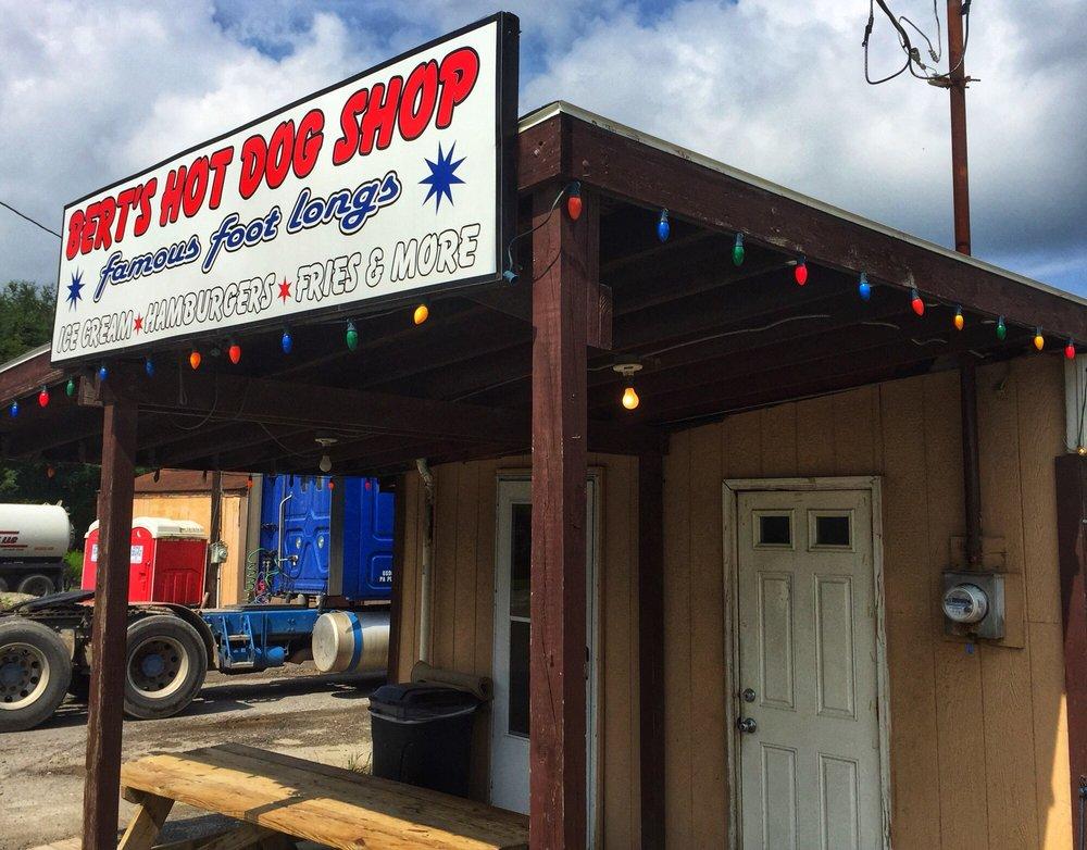 Bert's Hot Dog Shop: 1627 Smith Township State Rd, Burgettstown, PA