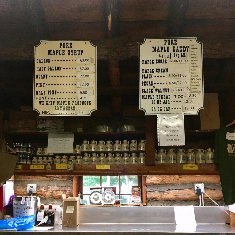Burton Log Cabin: 14590 E Park St, Burton, OH