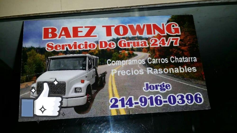 Baez Towing: Dallas, TX