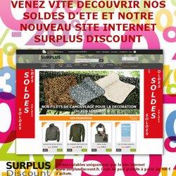 Surplus Discount - Discount Store - 58 bd de la Guyane, Saint-Mandé ... eaf20808474