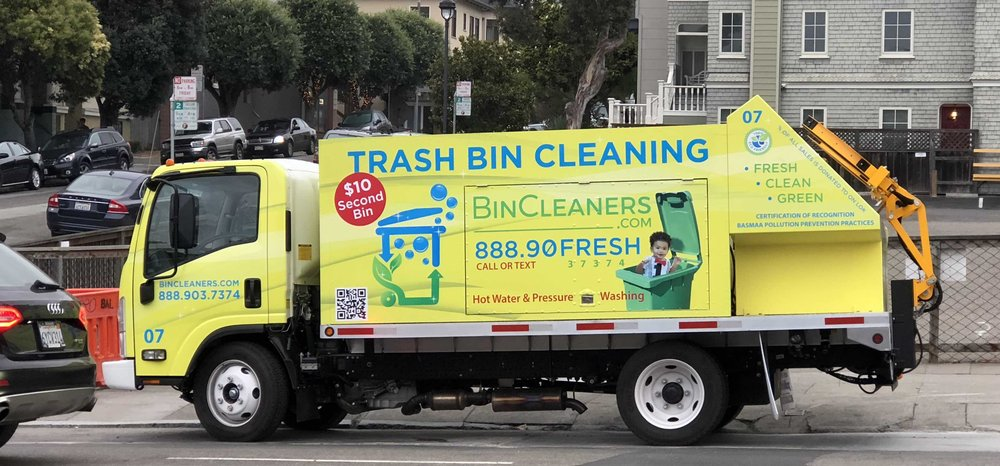 Clean Trash Cans: 2109 Van Ness Ave, San Francisco, CA