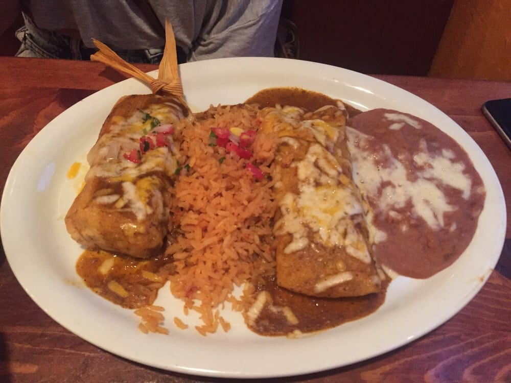 Tamale enchilada dinner plate yelp for Acapulco loco authentic mexican cuisine